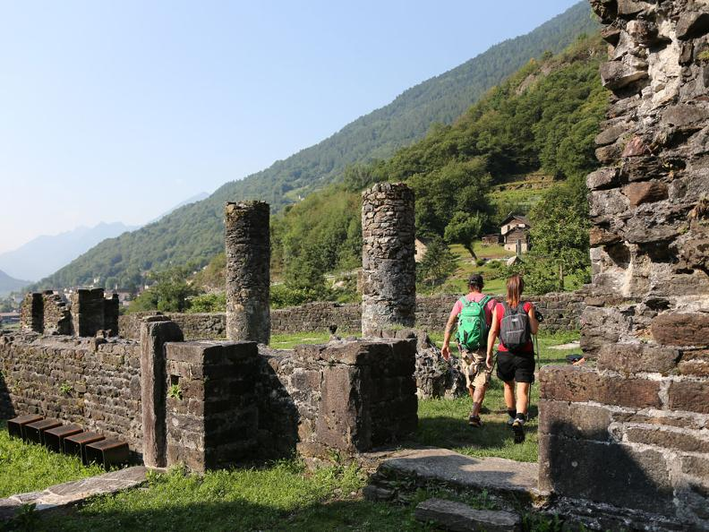 Image 4 - Ruins of the Serravalle Castel
