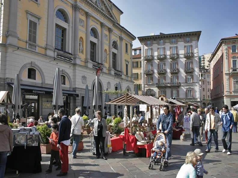 Image 2 - The market of Lugano