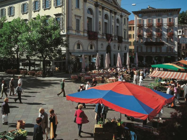 Image 0 - The market of Lugano