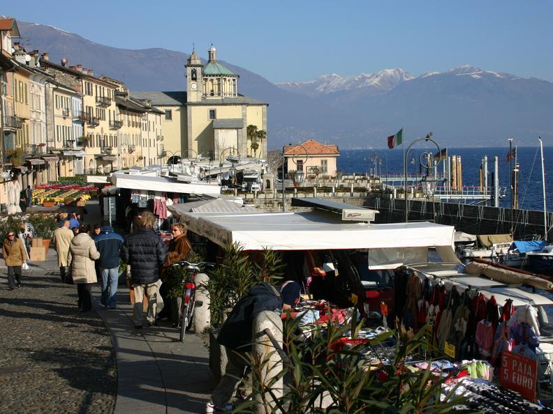 Image 1 - Markt von Cannobio (Italien)