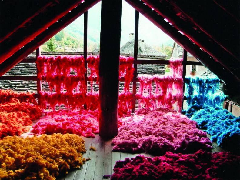 Image 0 - The production of wool