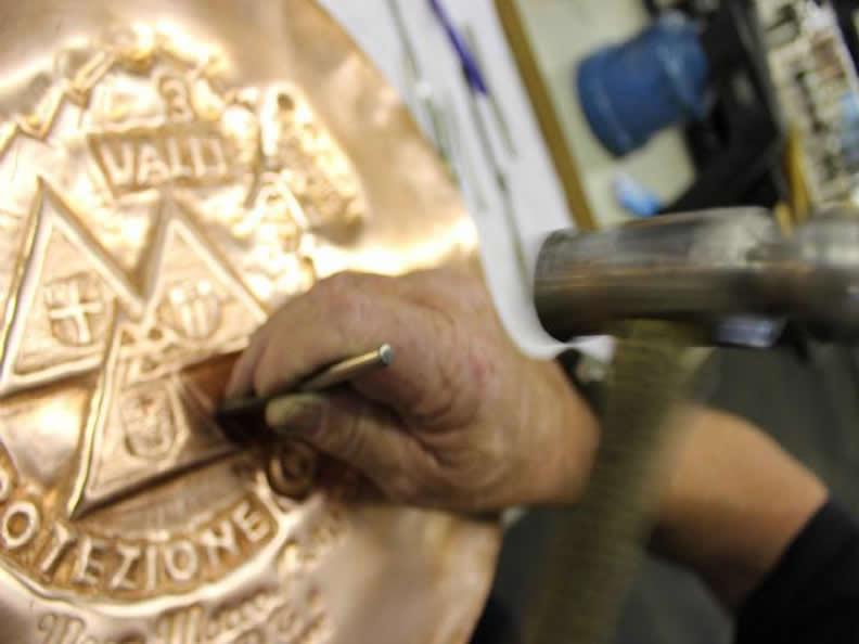 Image 1 - La lavorazione del rame