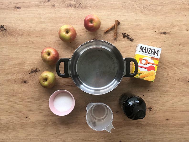 Image 1 - Mele al Merlot - La ricetta