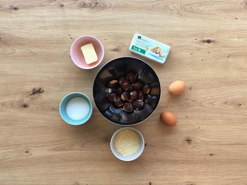 Image 1 - Kastanienkuchen - Das Rezept