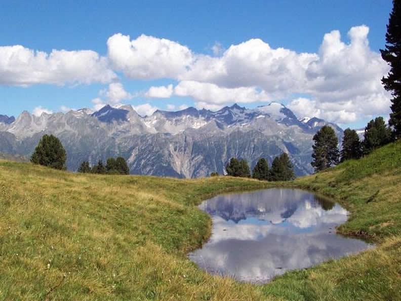 Image 1 - Lakes at the bottom of the alps, alpine lakes and lake basins