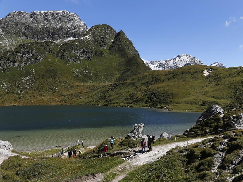 Image 1 - Bergseen der Region Ritom und Val Piora