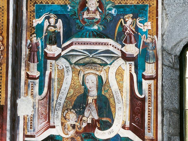 Image 0 - Gli affreschi della chiesa di S. Nicolao