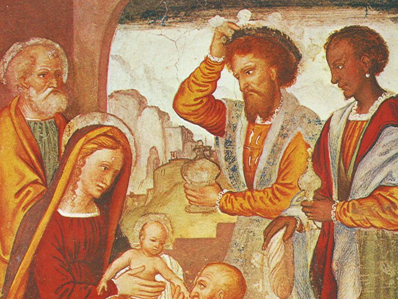 Image 0 - Gli affreschi della chiesa di S. Maria delle Grazie