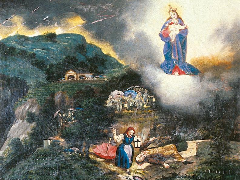 Image 1 - Gli affreschi della chiesa di S. Maria delle Grazie