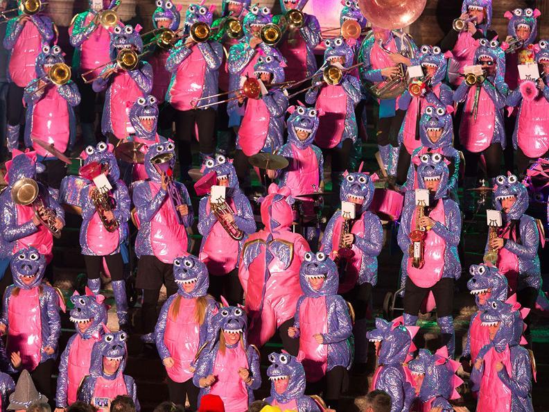 Image 2 - In the reign of king Rabadan Carnival in Bellinzona