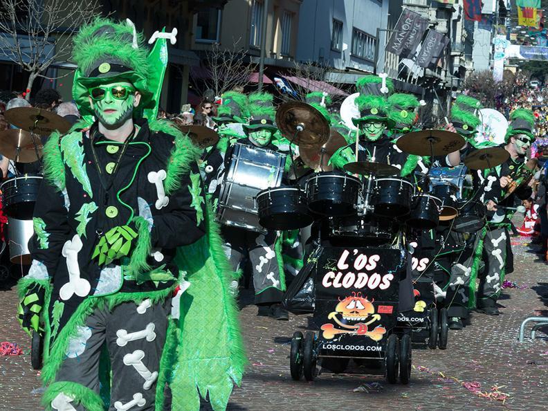 Image 3 - In the reign of king Rabadan Carnival in Bellinzona