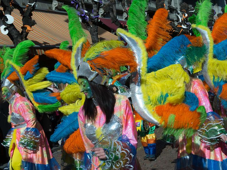 Image 4 - In the reign of king Rabadan Carnival in Bellinzona