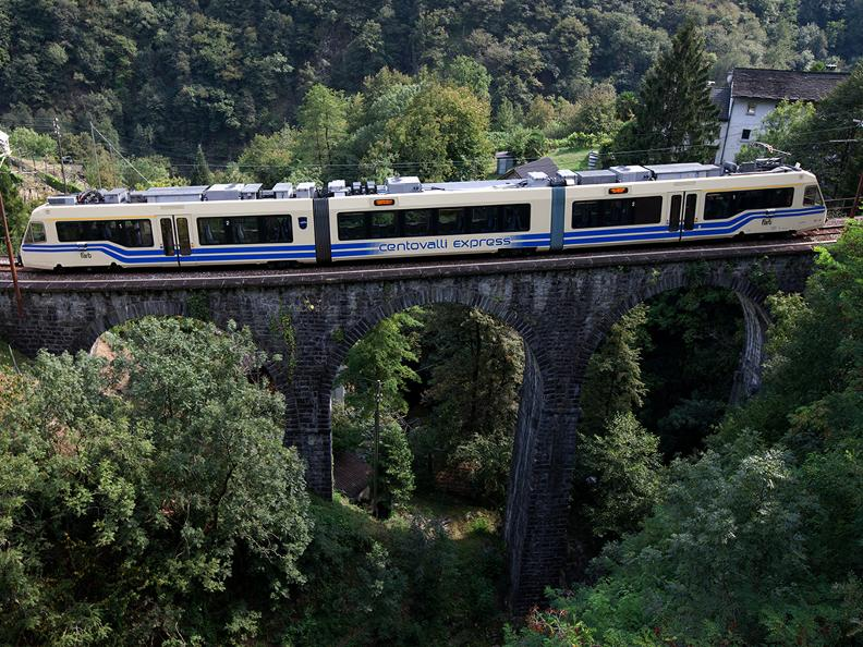 Image 0 - Centovalli Railway Locarno-Domodossola