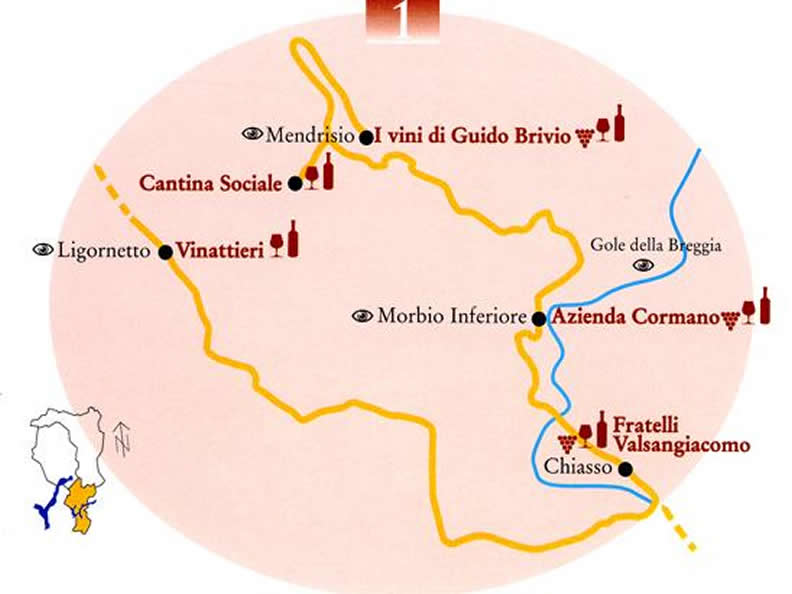 Image 0 - The wine road of Mendrisiotto