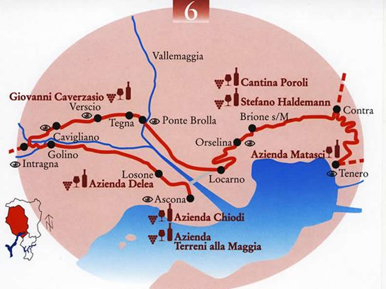 Image 0 - La route du vin du Locarnese