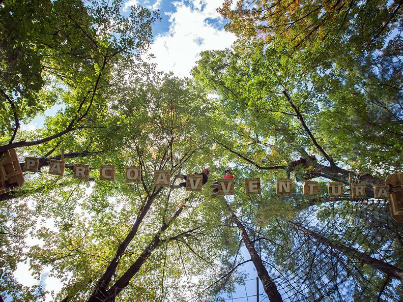 Image 0 - Parc aventure - Seilpark Gordola