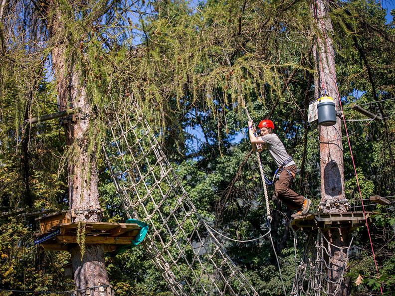 Image 4 - Parc aventure - Seilpark Gordola