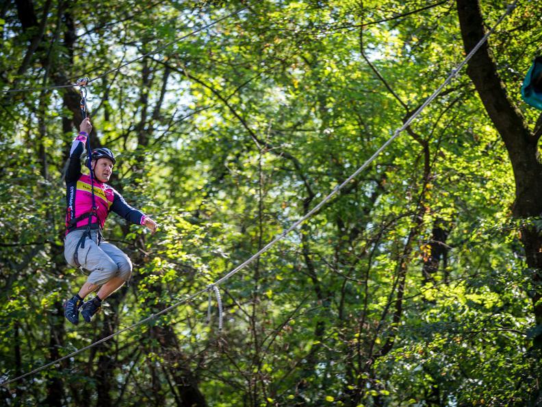 Image 10 - Parc aventure - Seilpark Gordola