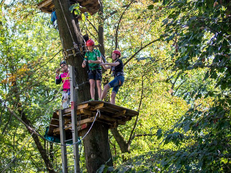 Image 9 - Parc aventure - Seilpark Gordola