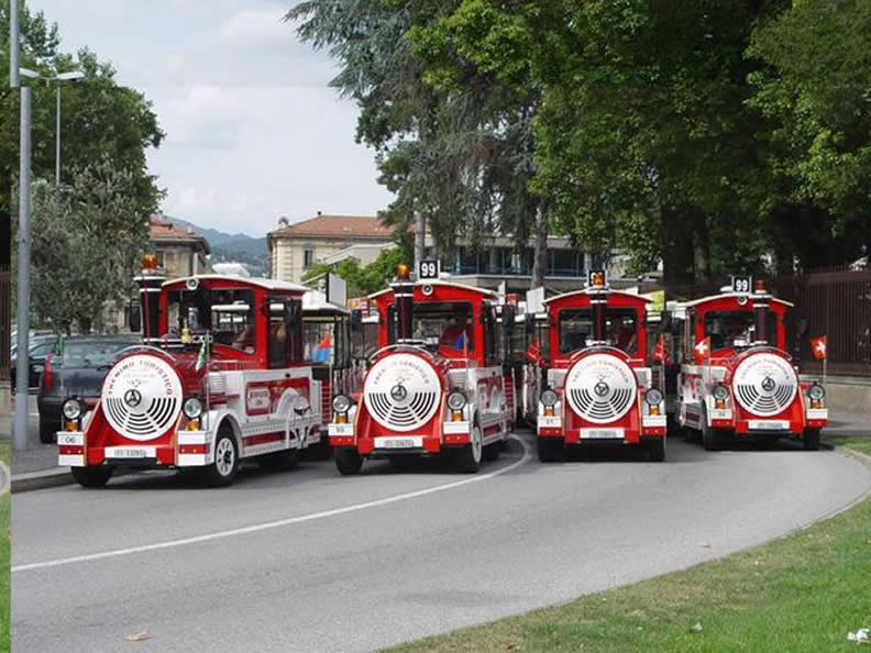 Image 0 - Tourist train Lugano