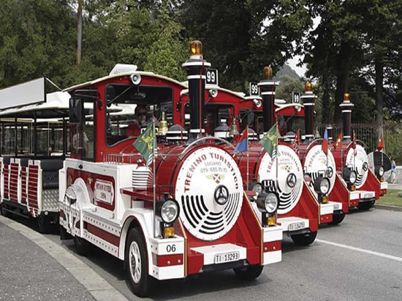 Image 1 - Tourist train Lugano