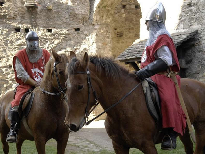 Image 1 - A Medieval event in the  castles