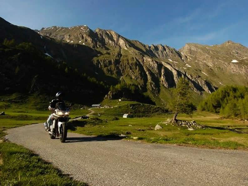 Image 1 - Alpine passes on the motorbike