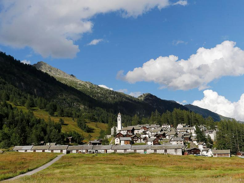 Image 1 - Nordic Walking trail in Bosco Gurin
