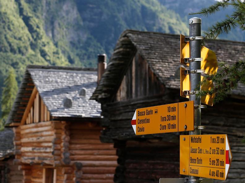 Image 2 - Sentiero di Nordic Walking a Bosco Gurin