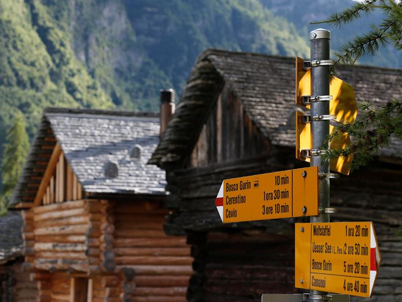 Image 2 - Nordic Walking trail in Bosco Gurin