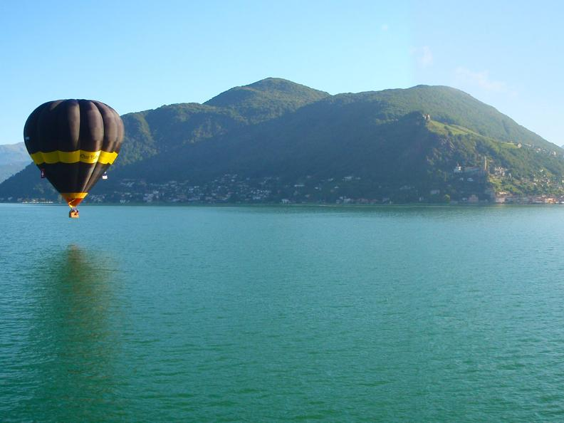 Image 0 - In the sky over the Ticino, balloon and airship flight around the year