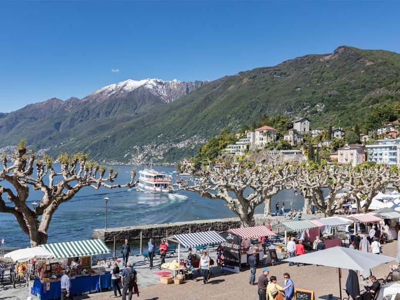 Image 1 - The market of Ascona