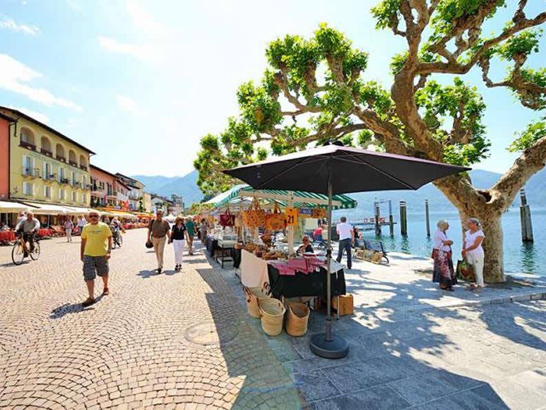 Image 0 - The market of Ascona