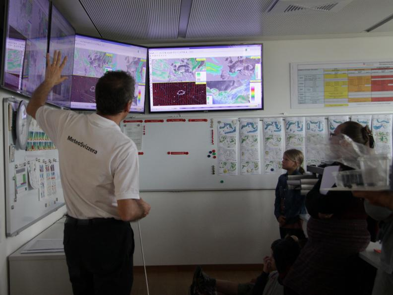 Image 1 - Visit at Meteo Swiss
