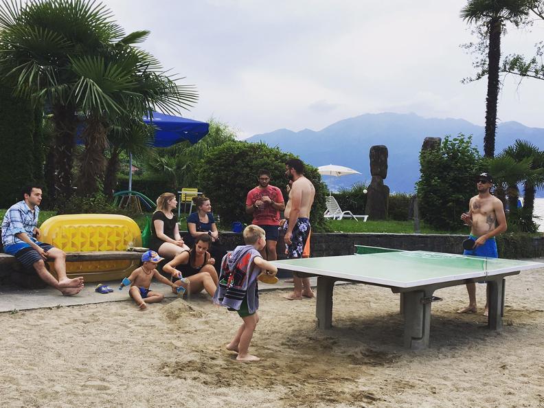 Image 4 - Public beach of Vira Gambarogno