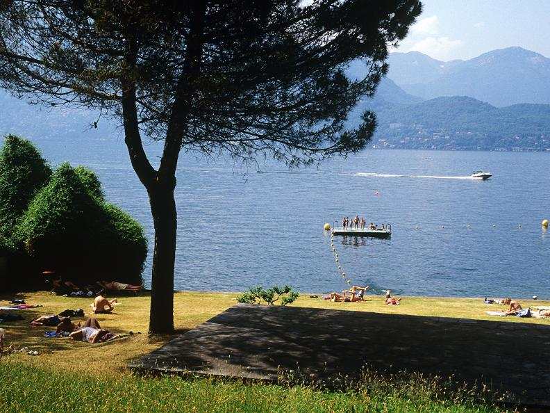 Image 1 - Public beach of Gerra Gambarogno
