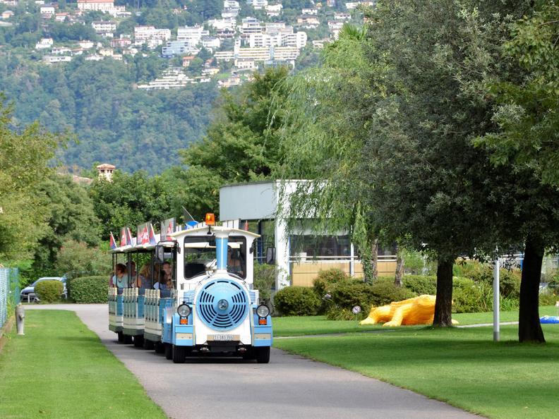 Image 1 - Small tourist train Locarno and Ascona