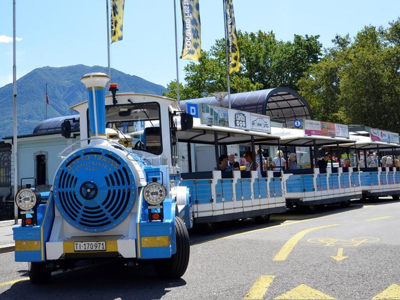 Image 0 - Small tourist train Locarno and Ascona