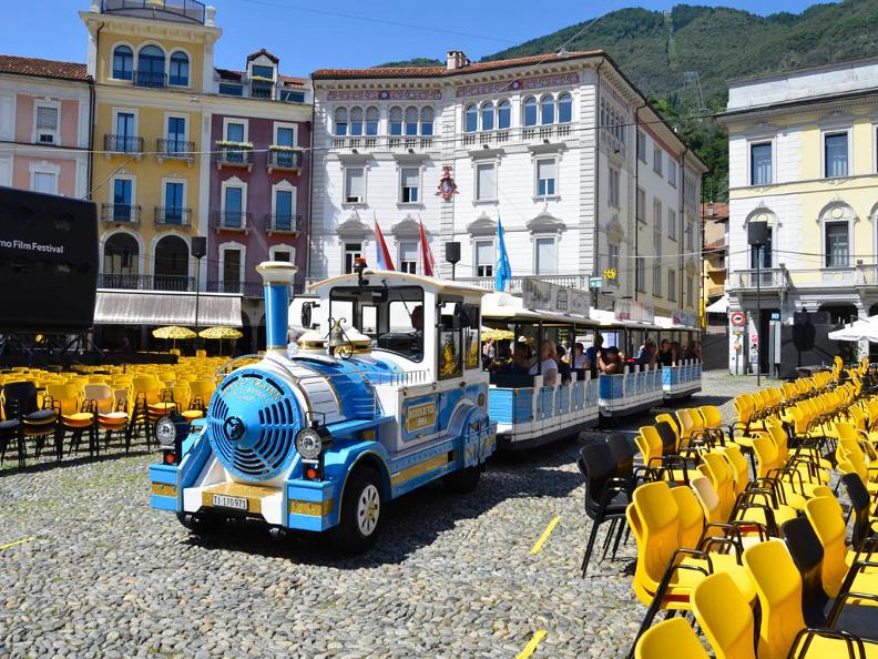 Image 3 - Small tourist train Locarno and Ascona
