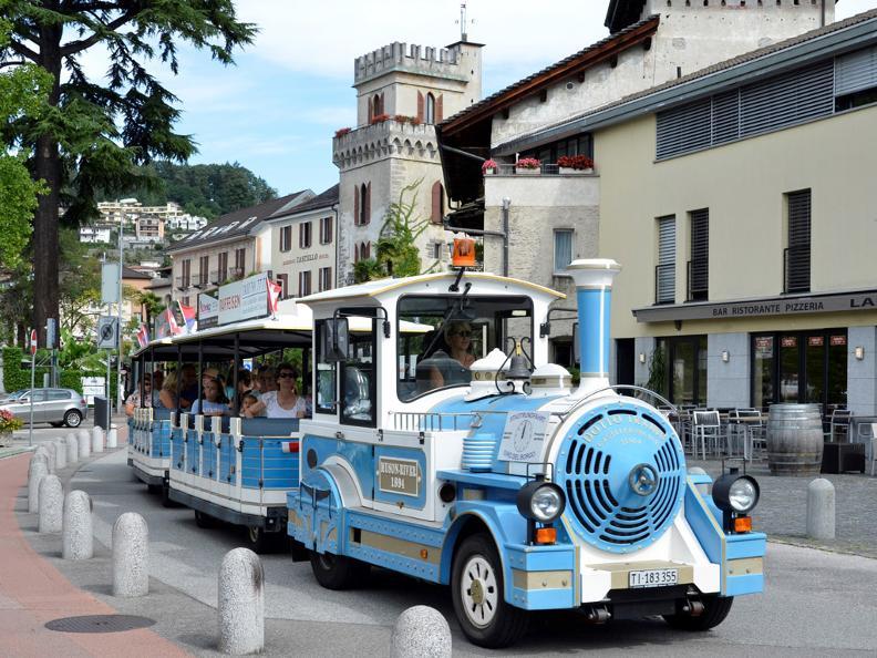 Image 4 - Small tourist train Locarno and Ascona