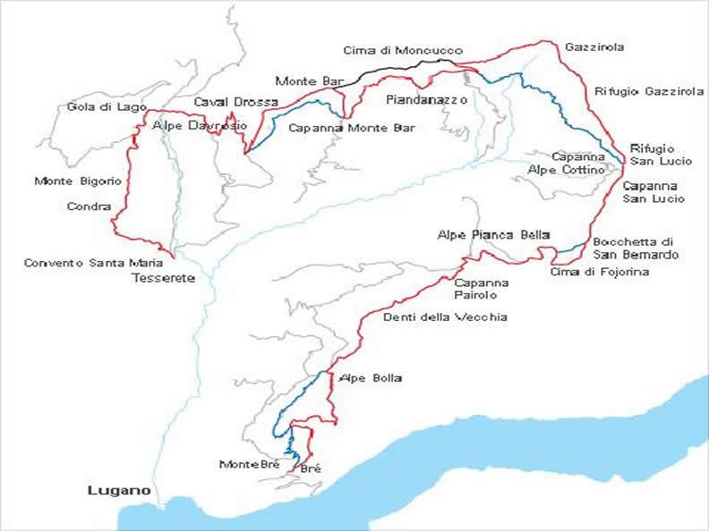 Image 0 - Lugano Trekking (Brè-Tesserete)