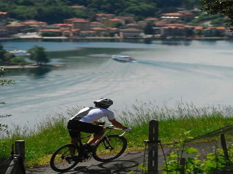 Image 2 - Ticino and cycling