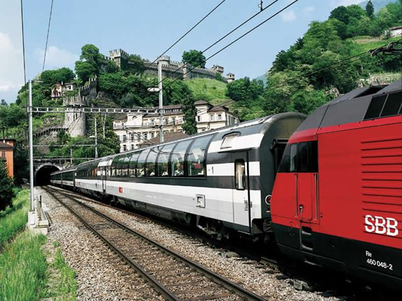Image 1 - Discover Ticino by train!