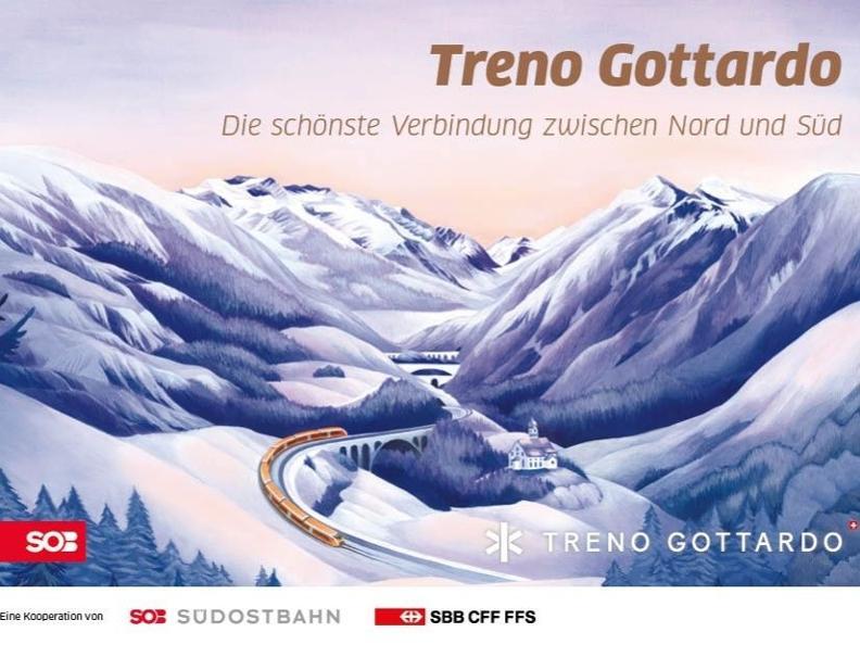 Image 3 - Treno Gottardo - Südostbahn