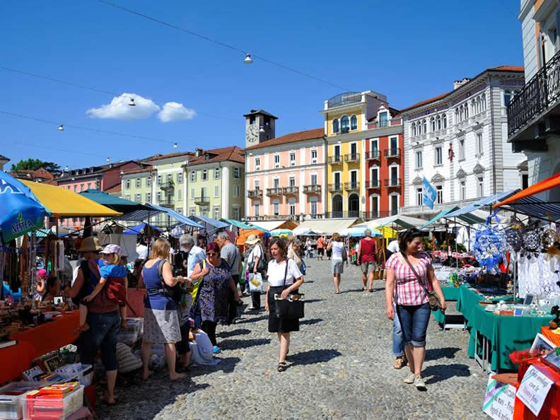 Image 2 - The markets in Ticino