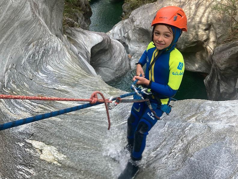 Image 3 - Ticino Outdoor - canyoning, via ferrata, rock climbing
