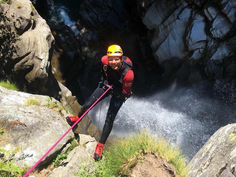 Image 4 - Ticino Outdoor - canyoning, via ferrata, rock climbing