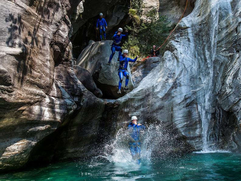 Image 1 - Ticino Adventures - canyoning