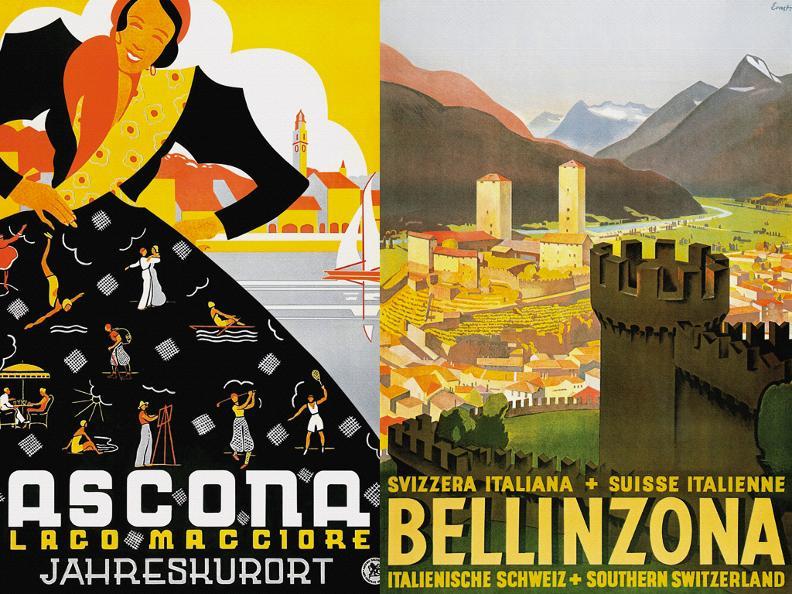 Image 0 - Monte San Salvatore, Ausstellung Historischer Reiseplakate