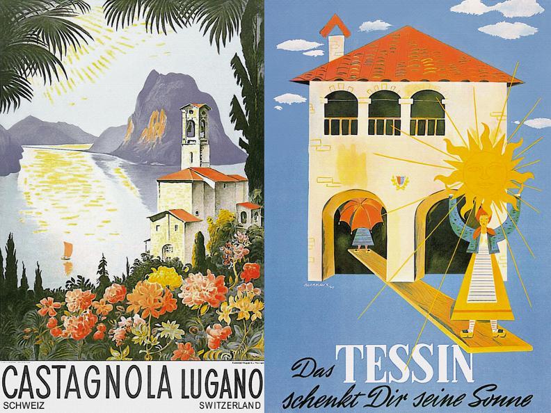 Image 2 - Monte San Salvatore, Ausstellung Historischer Reiseplakate